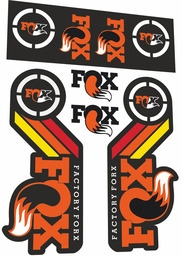 Наклейки для Fox Racing Shox Factory Forx